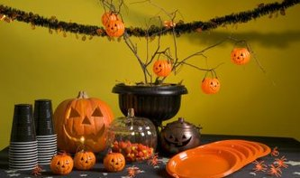 Elegant Traditional Halloween Party