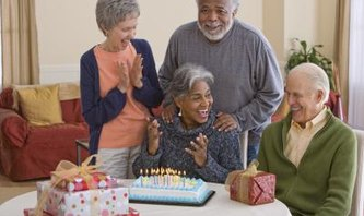 Birthday Party Ideas for an Elderly Lady