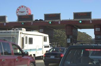 Prepare for toll costs before traveling. Toll costs vary by road and state.