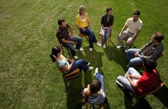 Counselors may work with families or conduct group sessions.