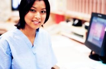 A nursing assistant periodically provides reports for nurses and doctors.
