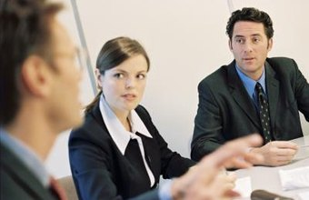 A panel interview can be an effective way of meeting with job candidates.