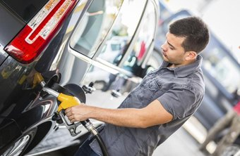 Gas station clerks serve customers by meeting their automotive and hunger needs.