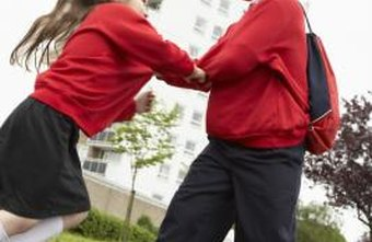 Bullies may use physical intimidation or fight to establish dominance.