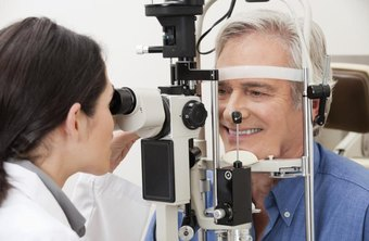 Ophthalmologists must have excellent eye-hand coordination to perform microsurgery on the eye.
