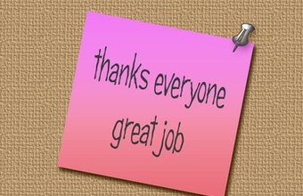 Showing appreciation can be an effective and inexpensive morale booster.
