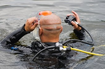 Underwater demolition divers are in high demand in the oil industry.