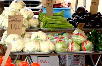 Sell your produce at roadside stands and farmer's markets.