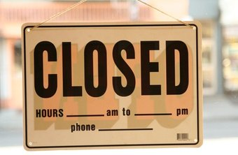 Several steps are involved in the closing of a small business.