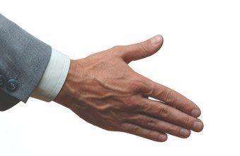 In business, a handshake is considered good etiquette.