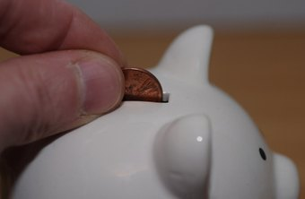 A piggy bank is a possible start for a child's savings.