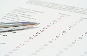Checklists are useful tools in creating performance reviews.