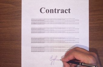 Some types of sales contracts must be in writing to be enforceable.