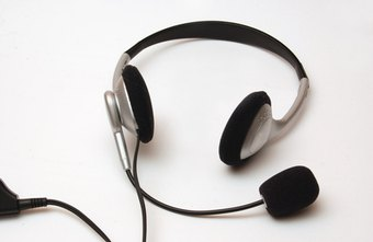 Headsets, unlike laptop mics, are customized for Web voice calls.