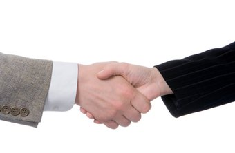 Make a new hire feel welcome with a handshake and an introduction.