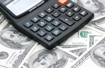 Small business accounting tracks income and expenditures.