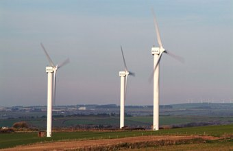 Wind farms have become a new form of revenue for farmers.