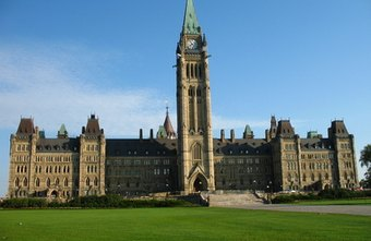 Canada's Parliament buildings in Ottawa