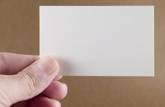 How to Create a Big Impact with a Small Business Card