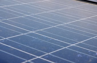Solar panels transform the sun's energy into electricity.