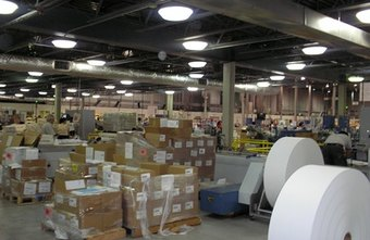 Various inventory issues occur within the confines of a company's warehouse.