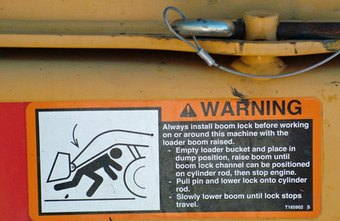 Warning labels are just one of the requirements set forth by OSHA.