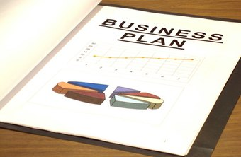 Business plans are used to help small businesses remain on track with company goals.