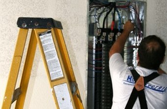 An electrician installs, repairs and maintains electrical systems.