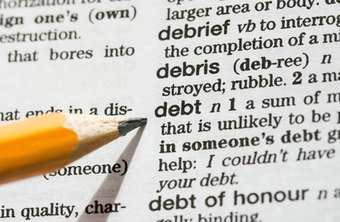 You credit report lists all open and closed debts.
