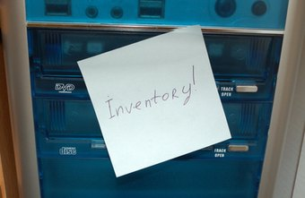 Use sticky notes or other markers when preparing items to be inventoried.