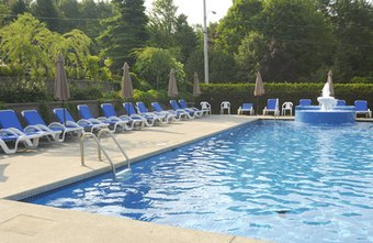 Swimming pool cleaning and repair businesses can cater to both public and private pools.
