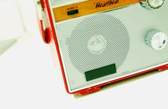 Radios at work can help energize some employees.