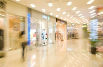 Malls provide high foot traffic.
