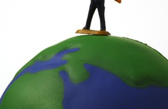 A sole proprietor with a successful business can feel as if he is on top of the world.