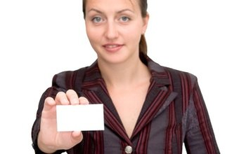 Use your business card as a networking tool.