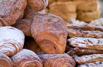 Pastries make simple food options for morning meetings.