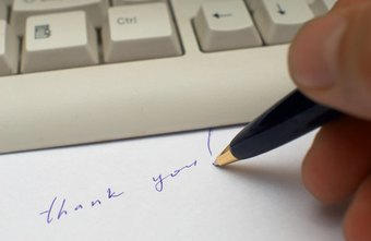 Write a business thank-you letter to clients, customers, vendors and other business associates.
