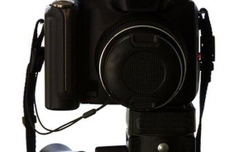 The SLR camera is used by many professional photographers.