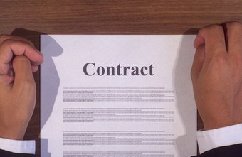 A contract spells out contigency payment terms.