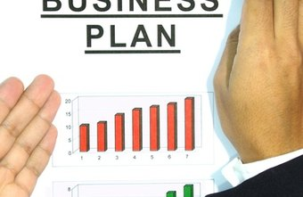 Business plans include executive summaries, a market analysis, and marketing plan.