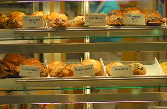Private bakeries provide fresh delectables daily.