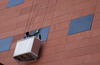 High-rise window cleaning is a specialty niche.