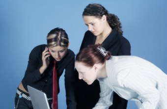 Business teamwork requires professionalism and effective interpersonal skills.