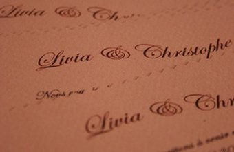 Start A Business Making Wedding Invitations By Creating Sample Binders For Customers To Peruse