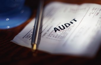 Procedures help determine the outcome of the auditing process.