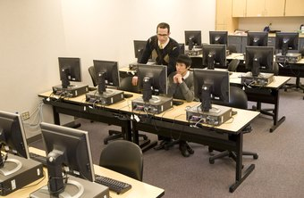 Students as young as middle school take computer science classes.