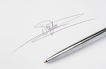 Create a digital version of your signature for the Web.