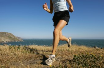 Hot temperatures can drastically increase the cardiovascular effort of a jog.