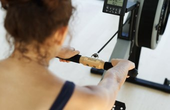 The rowing machine can help you burn hundreds of calories per workout.