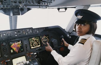 Commercial pilots can transport passengers or cargo.